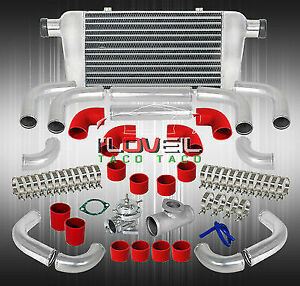 Jdm Vip Style Front Intercooelr Blow Off Valve Beaded Straight Pipe Hoses
