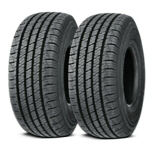2 Lionhart Lionclaw Ht P225 65r17 102t All Season Performance Truck Suv Tires