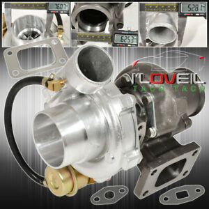 T3 t4 Racing Turbocharger With V band Outlet Internal Wastegate Mitsubishi