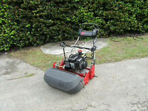 2014 Toro Greensmaster 1600 Greens Reel Lawn Mower 26 Cut Model 04056 W Basket
