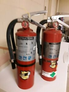 3 Buckeye 5lb Abc Fire Extinguishers