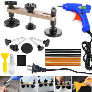 Pops A Dent Puller Paintless Dent Removal Tools Kit Auto Body Hail Damage Repair