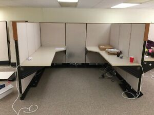 Used Office Cubicles Herman Miller Q System Include The Sea Container