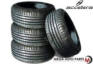 4 New Accelera Phi r 205 55r15 88v All Season Ultra High Performance Tires