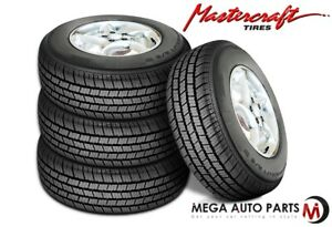 4 Mastercraft A S Iv P205 70r15 95s White Wall All Season Performance Tires