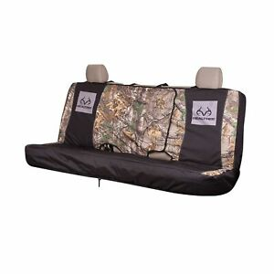 Realtree Camo Seat Cover Bench Xtra Full Bench