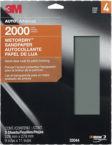 3m 32044 Imperial Wetordry 9 X 11 2000 Grit Sheet