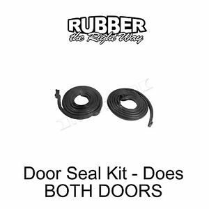 1956 1957 Lincoln Door Seal Kit Does Both Doors