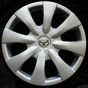 One Replacement 15 Fits Toyota Corolla Hubcap 2009 2010 2011 20120 2013 45015s