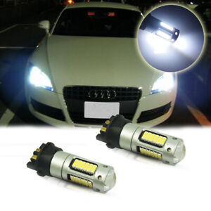 Pw24w Pwy24w High Power White Led Bulbs For Audi Bmw Vw Turn Signal Lights Drl