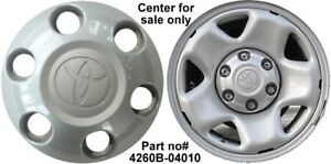 New Factory Original Toyota Tacoma Wheel Center Cap 2005 2019 Genuine Hubcap