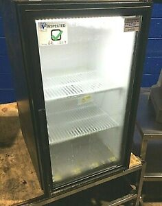 True Gdm 06 Commercial 1 glass Door Cooler Refrigerator Display Merchandiser