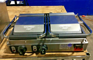 Vollrath 40795 Ts18002 Commercial Double Panini Sandwich Grill Press