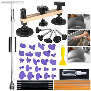 Paintless Dent Removal Puller Tools Auto Body Hail Damage Door Dings Repair Kits