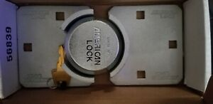 4 American Locks Puck Lock Hasp box Of 4 Completes Sets