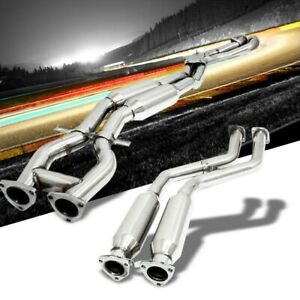Exhaust Catback System Stainless Steel For 99 06 Bmw M3 E46 Base 3 2l Dohc