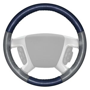 For Honda Prelude 80 Steering Wheel Cover Eurotone Two Color Blue Steering Wheel