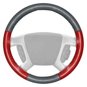 For Honda Prelude 80 Steering Wheel Cover Eurotone Two Color Gray Steering Wheel