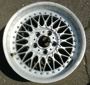 Bmw Bbs Two Piece Rc090 Style 5 Wheel Rim 17 Has Small Bend