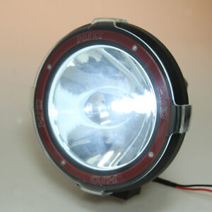 7 100w Flood Driving Lights Hid Xenon 12v Jeep Suv Spot Work Light Red