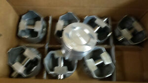 302 Ford Forged Pistons 1973 Thru 1976 Standard Bore Set Of 8