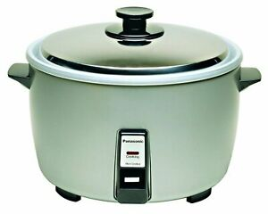Brand New In Box Panasonic Sr 42hzp Commercial Rice Cooker Silver Great Quality
