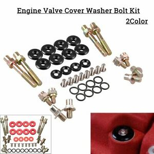 Engine Valve Cover Washer Nut Bolt Kit For Honda Civic Acura B Series B16 B18