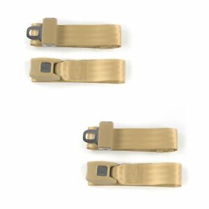 Chevy S10 Blazer 1982 1994 Standard 2pt Tan Lap Bucket Seatbelt Kit 2