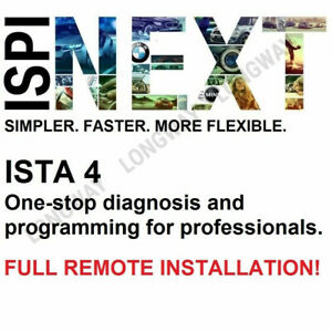 Remote Installation Service For Ista D Rheingold Complete Softwares Fits Bmw
