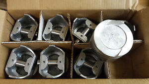 351m Ford Pistons Cast 1975 Thru 1981 030 Over Set Of 8