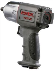 Nitrocat 3 8 In Twin Hammer Composite Air Impact Wrench Aircat 1355 xl Aca