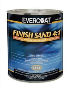 Finish Sand 4 1 Hybrid Polyester Primer Surfacer Fibre Glass evercoat 738 Fib