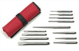 12 Pc Punch And Chisel Set Gearwrench 82305 Kdt