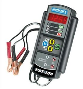 Advanced Battery Starter Charging Tester Midtronics Pbt300 Mdt