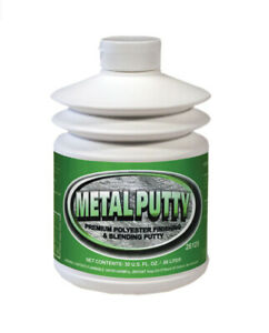 Metal Putty Polyester Finishing And Blending Putty 30 Oz