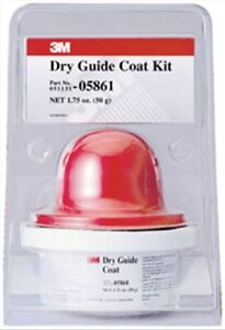 Dry Guide Coat 05861 50 Gr Cartridge And Applicator Kit 3m Company 5861 3m