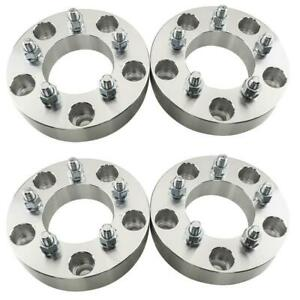 4pcs 1 5 5x5 5 To 5x4 5 1 2 5 Lug Wheel Spacers Adapters For Ford Dodge
