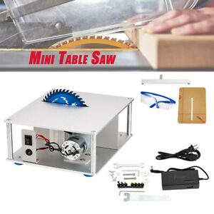 Mini Electric Bench Saw Table 110 220v Diy Woodworking Wood Cutting Tool Us