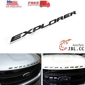 Fit For Ford 2011 2019 Explorer Sport Hood Emblem Letters Decal Db5z 5842528 A
