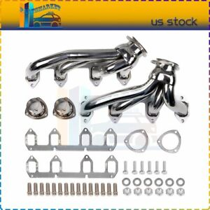 Big Block Fe Stainless Shorty Header Exhaust Manifold For 57 67 Ford
