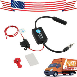 Car Radio Signal Booster Amp Amplifier Auto Stereo Fm Vehicle Signal Amplifier