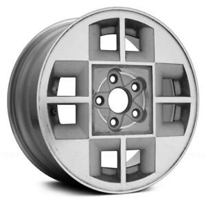 For Chevy Cavalier 88 90 14x6 8 slot Silver Alloy Factory Wheel Remanufactured