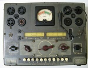 Jackson 636 Dynamic Tube Tester Powers Up Quality Of Operation Unknown