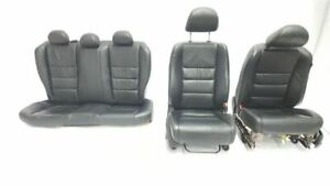 Set Of Seats Bucket Leather Electric Coupe Oem 09 2009 Honda Accord Ex L R321101