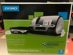 Desktop Label And Postage Printer With 10 Lb Digital Scale