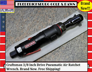 Craftsman 3 8 Inch Drive Pneumatic Air Ratchet Wrench Brand New Free Shipping