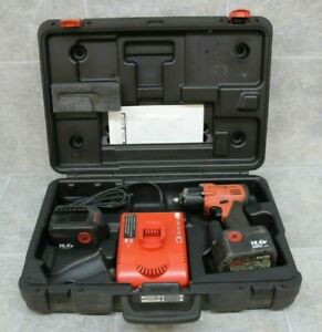 Snap On Ct4410a0 Drive Impact Wrench W Batteries Case