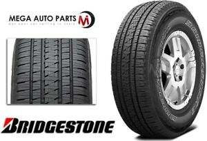 1 Bridgestone Dueler Hl Alenza Plus 265 70r16 112t Owl Premium All Season Tires