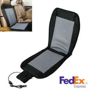 12v Universal Cooling Car Seat Cushion Cover Mat Air Ventilation Fan Cooler Pad