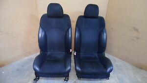 2011 2012 2013 Lexus Is F Front Leather Suede Bucket Seats Rh Lh Black Oem